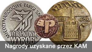 Nagrody uzyskane przez KAM Milajewo na targach meblowych