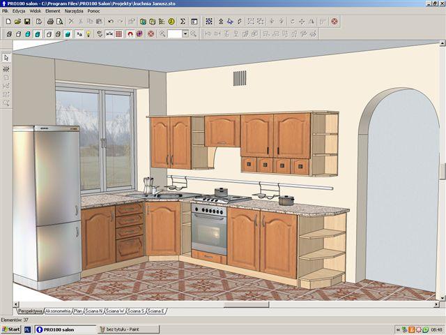Wizualizacja kuchnia III  meblenowak net – Kuchnie