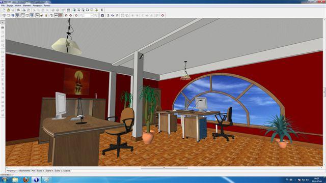 Wizualizacja biuro